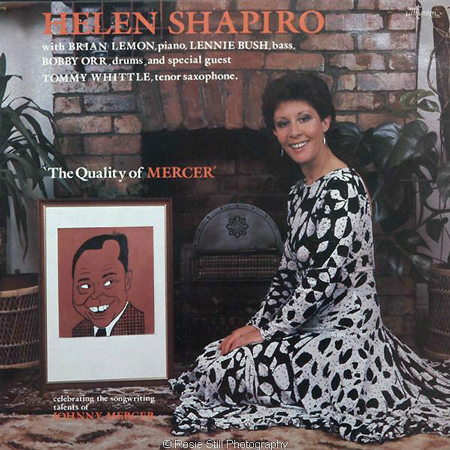 1987 The Quality of Mercer - Helen Shapiro - cover shot done in my lounge