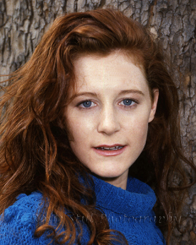 Photo of actor Geraldine Somerville 1991