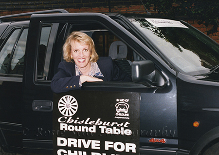 Photo of presenter Esther Rantzen 1995