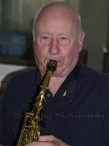 Photo of Jimmy Hastings - Humph's band (alto sax, clarinet and flute) 2006