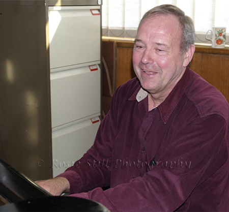 Photo of Ted Beament - Humph's band (piano) 2006