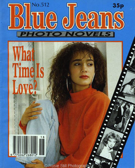 The cover of a Blue Jeans photonovel 1991