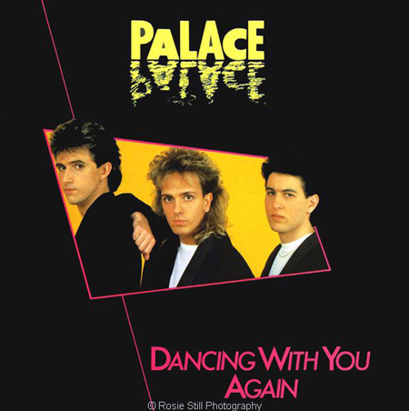 Record cover for a Song For Europe contender PALACE 1986