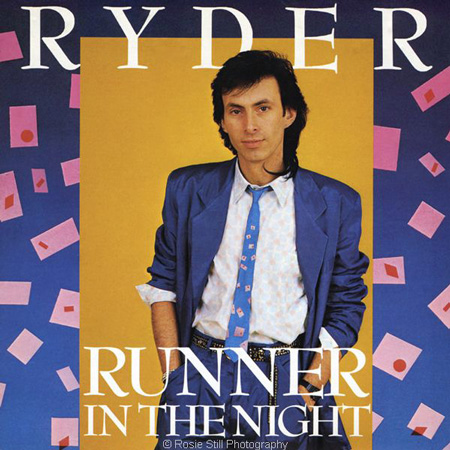 Cover of Runner in the Night by RYDER 1986