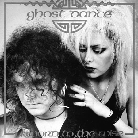 Cover of Word to the Wise record GHOST DANCE 1987