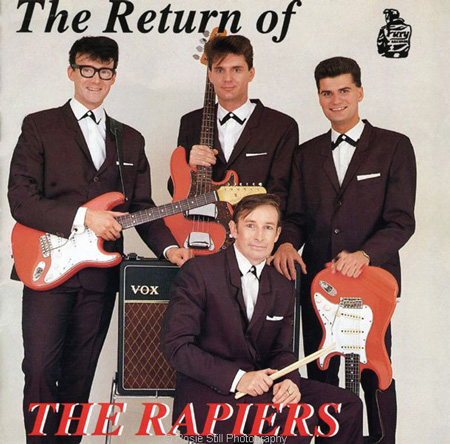 Cover of album by the Rapiers