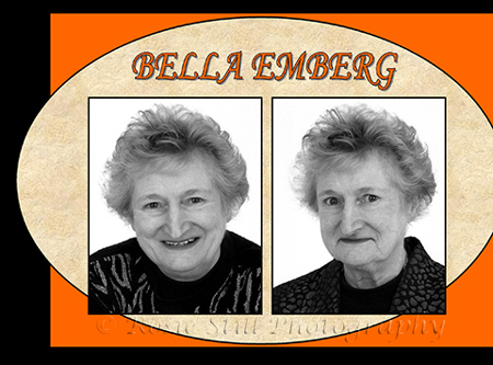 "Photo of actor Bella Emberg 2003 (""Russ Abbot's Madhouse"", ""Bear Behaving Badly"") and also a good friend of mine"