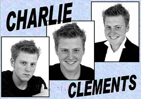 "Photo of actor Charlie Clements 2003 (pre ""Eastenders"")"