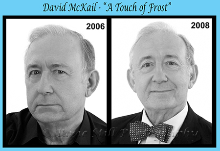 Photos of actor David McKail 2006 & 2008