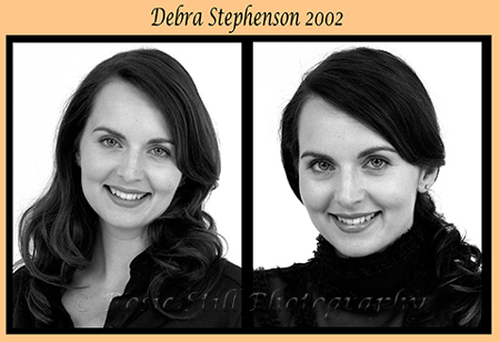 "Photo of actor and impressionist Debra Stephenson 2002 (at the time of ""Bad Girls)"