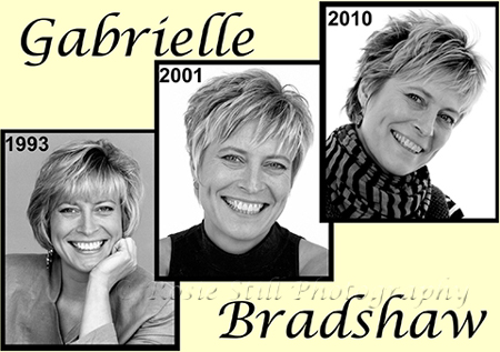 More photos of Gabrielle Bradshaw 1993, 2001 & 2010