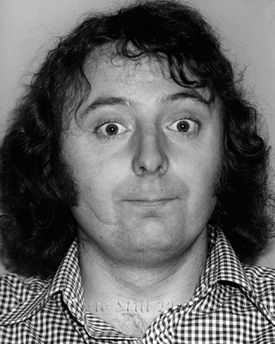 Photo of comedian & presenter Jasper Carrott 1976