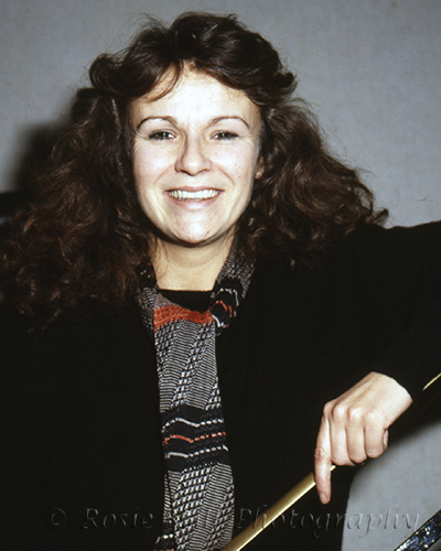 Photo of comedienne &actor Julie Walters 1985