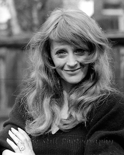 "Photo of actor Polly James 1973 (Beryl in ""The Liver Birds)"