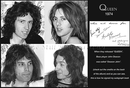 Photo of Queen 1974